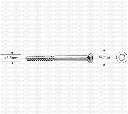 Shaft Screw 3.5mm