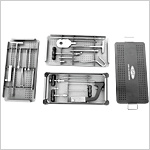 Gamma Nail Instrument Set in Graphic Case