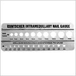 Gauge for Kuntscher Nails