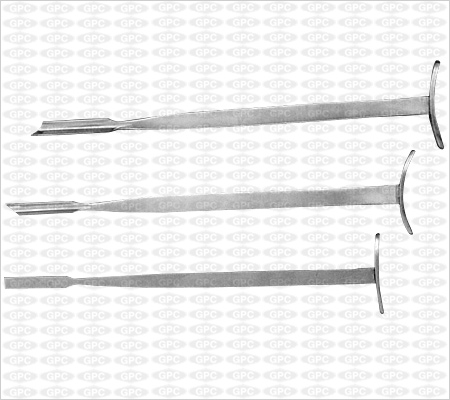 Smillie's Meniscus Knives (set of Three)