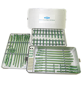 intra<em>HEAL</em> Proximal Femoral Nail, Advanced (Titanium) Implant Set