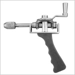 Micro Hand Drill with S.S. Chuck & Key