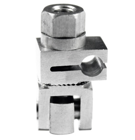 Self Holding Pin to Rod Clamp