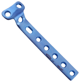 T Buttress Plate for 4.5mm screws