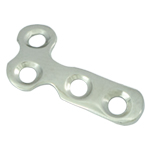 L- and T- Plate 2.0 For Finger joint-head, Shaft with 2 holes, head with 2 holes