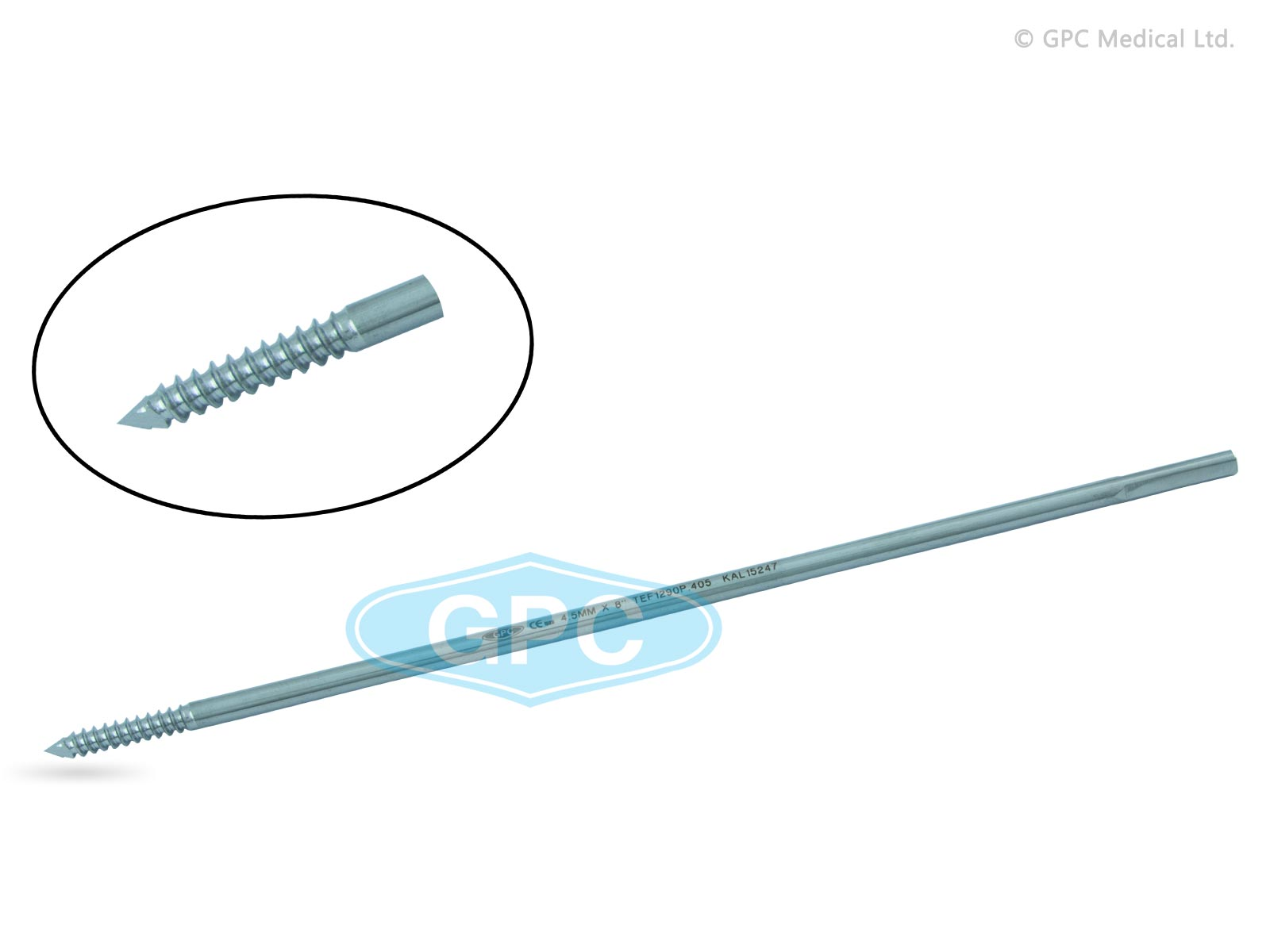 Schanz Screw (Side Thread Pins)